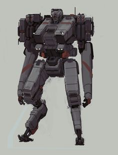 Robutt by Kwibl on deviantART Sistema Solar, Military Robot, Cuadros Star Wars, Robots Characters, Cool Robots, Robot Concept Art, Robot Design, Cyberpunk Art, Mechanical Design