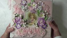 "Mini Album ~ Pion Designs ""My Precious Daughter"". More pics and a video can be seen on my blog cherylspapercreations.com"