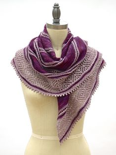 Ravelry: Clair de Lune Shawl pattern by Pam Powers