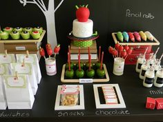 Such a great idea >> Back To School Theme #Party