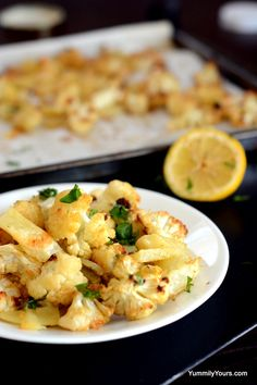 Aloo Gobhi, a popular Indian side is made in the oven. Effortless, crisp and tasty, this recipe is Mediterranean take on the classic. Roast Cauliflower