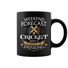 Weekend Forecast Cricket With A Chance Of Drinking Mug