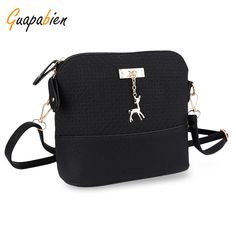 Cheap bags with, Buy Quality messenger bag directly from China shoulder messenger bag Suppliers: Guapabien Women Shoulder Messenger Bag Kawaii Mini Bag With Deer Small Clutch Phone Bag Girls Shell Shape Leather Plaid Handbags Pakistan, Small Deer, Small Handbags, Ladies Handbags, Girls Bags, Shell, Classic Leather, Pu Leather, Shoulder Handbags