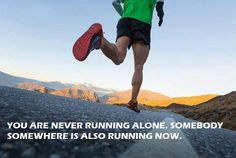 Runners are never alone :)