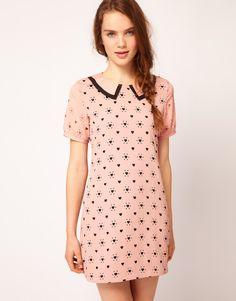 Dahlia Heart Cutwork Shift Dress