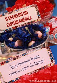 Meninas da Tetto: Capitão América para os 6 anos de Guilherme