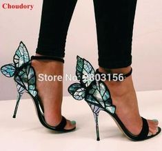 Beautiful Butterfly Heels. This seasons latest and greatest designer heels. Be the belle of the ball. Choose your wings today at theinfinityemporium.com.