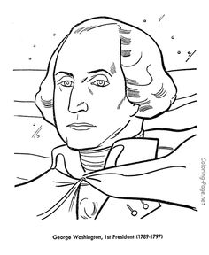 president george washington free printable us presidents coloring pages learning activities and coloring sheets homeschool us presidents learning aids