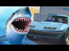 EL COCHE TIBURON!!! - Gameplay GTA 5 Online Funny Moments (Carrera GTA V PS4) - YouTube