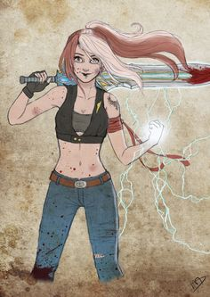 Hayley Caloway Destiny by Kasami-Sensei.deviantart.com on @deviantART - not really Disney, but still like it!