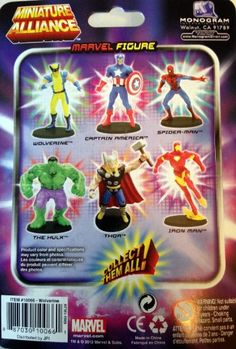 Marvel SPIDERMAN Miniature Alliance Action FIGURE Item #3 in 6 Collectible NEW @ niftywarehouse.com #NiftyWarehouse #Spiderman #Marvel #ComicBooks #TheAvengers #Avengers #Comics