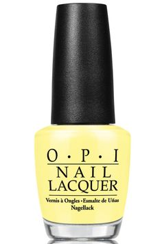 O.P.I. Nail Lacquer in Towel Me About It, $10, available in June at ulta.com.