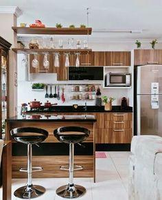 [disposición] Cocina en pequeños espacios.
