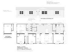 Model 6716DT - Double Section - Our Homes