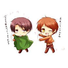 This is too cute ✨[ Credit to the Artist ] #eren #erenjaeger #jaegereren #jaeger #levi #leviackerman #ackermanlevi #ackerman #attackontitan #shingekinokyojin #進撃の巨人 #gay #yaoi #bl #boyslove #boyxboy #cute #love #couple #erenxlevi #levixeren #ereri #riren #rivaere #anime #otaku #manga #otp #like #follow