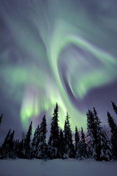 Aurora Sweden (by Arjan van Hof)