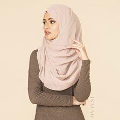 Nude Georgette Hijab