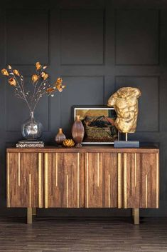 #eclectichome #sideboard #sideboardcabinet #livingroom #woodenfurniture #storagecabinet #storageideas #quirkyhome #eclecticdecor #quirkyinteriors #vintagehome #antiquestyle #haberdashery #homestorage #storagesolutions #rockettstgeorge Large Sideboard, Sideboard Cabinet, Credenza, Wooden Textures, Wooden Cabinets, Paint Furniture, Eclectic Decor, Brass Metal, Mid Century Design
