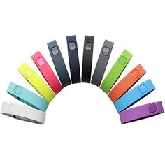 CIKIShield 12 Packsports Edition Pack Accessory Replacement Bands with Metal Clasps for Fitbit Flex Bracelet Sport Arm Band No Tracker Replacement Bands Only 12 Colors Small ** Want to know more, click on the image.