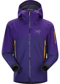 Rush Veste Homme Veste imperméable, respirante et robuste, conçue pour le ski de randonnée et le snowboard en haute montagne.
