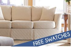 Online store specializing in slightly smaller scale furniture. Sectionals that are less deep than average. Fantastic return policy. Apartment sofas. Condo sofas. Small couches.