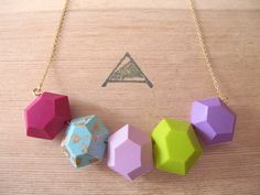 The Amy Polymer Clay Necklace by AACUTE on Etsy, $69.00