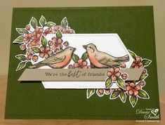 Free as a Bird by Creative Daze - Cards and Paper Crafts at Splitcoaststampers Bird Free, Cool Shapes, Forest Friends, Bird Cards, Global Design, Cards For Friends, Scrapbook Pages, Scrapbooking, Stampin Up Cards