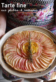 Recette tarte fine aux pommes laurent mariotte dessert pinterest - Petits plats en equilibre laurent mariotte ...