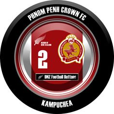 DNZ Football Buttons: Phnom Penh Crown FC                                                                                                                                                                                 Mais
