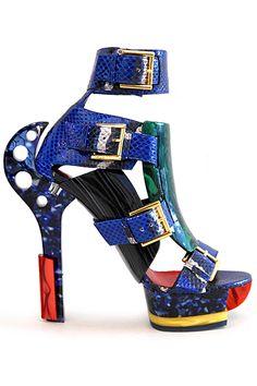 Alexander McQueen - Women's Shoes - 2014 Spring-Summer