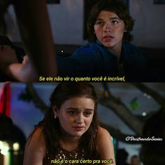 A Barraca do Beijo Frases Bad, Cute Phrases, Joey King, Kissing Booth, Forrest Gump, Tv Quotes, Film Serie, Series Movies, Greys Anatomy