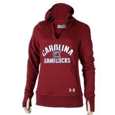 South Carolina Gamecock Ladies Under Armour Hoodie #gamecocks #carolina