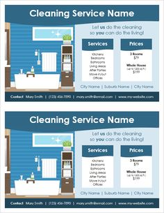 Download Free House Cleaning Flyers And Ad Ideas Fully Editable