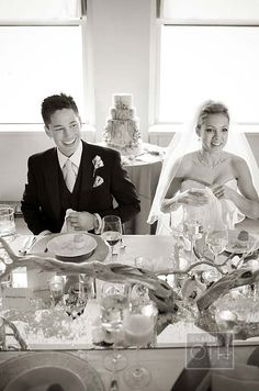 The happy couple hosts their first celebration as wife & wife.