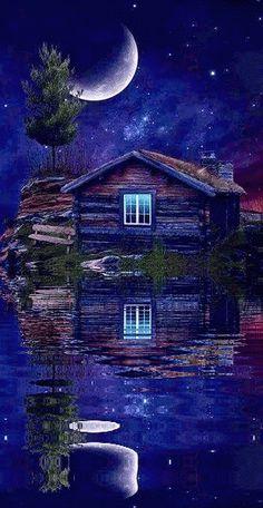 Good Night Friends, Good Night Gif, Good Night Wishes, Good Night Sweet Dreams, Good Morning Gif, Good Night Image, Wallpaper Nature Flowers, Beautiful Nature Wallpaper, Beautiful Landscapes