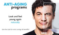 Look & feel young again, naturally! - Drip Doctors specializes in Anti-Aging Treatments and Bio-Identical Hormone Replacement Therapy (BHRT) for clients with hormonal imbalances and deficiencies. We take a targeted approach to test, diagnose, and treat symptoms that are not routinely tested for by most primary care physicians or covered by most insurance companies. HRT is an effective solution for men and women over the age of 35 who suffer from low libido, extreme weight gai