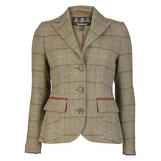 Buy Barbour Carter Tailored Jacket, Mid Olive Online at johnlewis.com