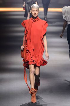 Lanvin. I don't know what it is exactly but I love this look.
