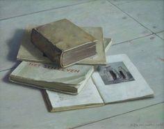 Hindrik Frans Nicolaas 'Henk'  Helmantel | 1945 - Stilleven met boeken