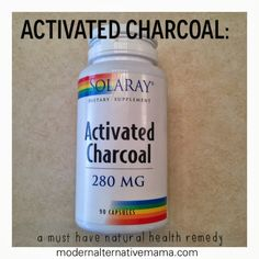 Activated Charcoal: New Must-Have in my Natural Health Arsenal | Modern Alternative Mama