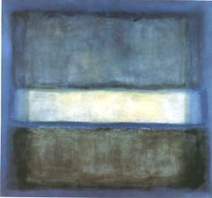 Mark Rothko No 27 Light Band White Band - Reproduction Oil Paintings