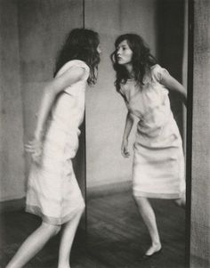 Paolo Roversi, Audrey through the mirror, Paris, 1998