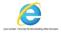 IE Advertisement Browser, Funny, Internet Explorer