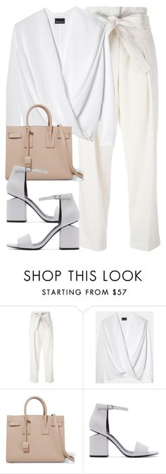 """""""Untitled #2723"""" by elenaday ❤ liked on Polyvore featuring 3.1 Phillip Lim, Yves Saint Laurent and Alexander Wang"""
