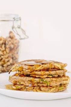 Zucchini Noodle Bread Pancakes - Weight Watchers SmartPoints*: 4 points