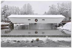 Covered Bridge, Elizabethton, TN.  Photo: Mark W Peacock