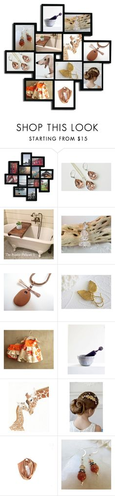 """Mother Love"" by inspiredbyten ❤ liked on Polyvore featuring Adeco, Swarovski and vintage"