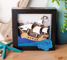 Pirate Ship Wall Art