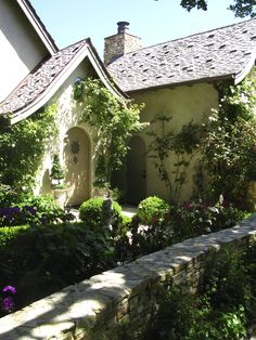 After 20 years in Carmel, I am still enchanted by the architecture. Hugh Comstock, inspired by the Fairytale Illustrations of Arthur Rackham, is credited with starting the Fairytale Cottage style i… Cozy Cottage, Cottage Homes, Cottage Style, Cottage Gardens, Cottage Ideas, Cottage Living, Storybook Homes, Storybook Cottage, Carmel California