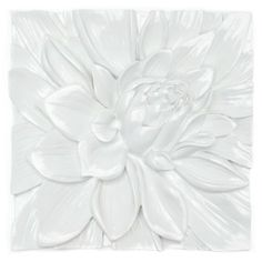 Lotus Flower Plaque | Wall Decor | Mirrors & Wall Decor | Decor | Z Gallerie